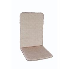 Μαξιλάρι πολυθρόνας με ψηλή πλάτη γκρι (2τεμ.)