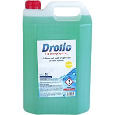 Καθαριστικό DROLIO ΓΙΑ ΕΠΑΓΓΕΛΜΑΤΙΕΣ Ultra για το πάτωμα με άρωμα λεμόνι, υγρό (5lt)