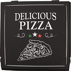 Κουτιά πίτσας microwelle Delicious μαύρο 36x4,2cm (50τεμ.)