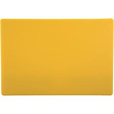 Πλάκα κοπής κίτρινη 45x30x1,27cm
