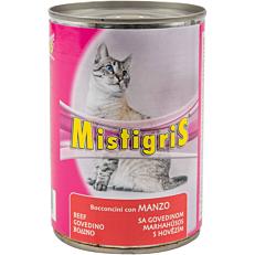 Τροφή MISTIGRIS γάτας μοσχάρι (405g)