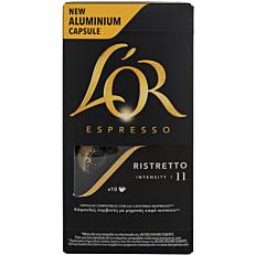 Καφές L'OR espresso ristretto σε κάψουλες (10x5,2g)