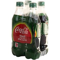 Αναψυκτικό COCA COLA stevia (4x500ml)