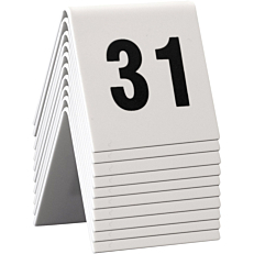 Ταμπελάκι αρίθμησης τραπεζιών SECURIT, 31-40