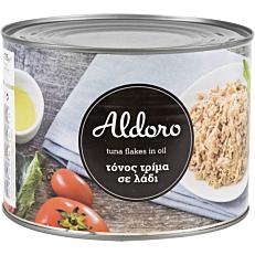 Κονσέρβα ALDORO τόνος σε λάδι τρίμμα (1,705kg)
