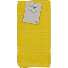 Πετσέτα κουζίνας VICTORIA βαμβακερή κίτρινο 40x60cm