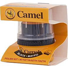 Βερνίκι παπουτσιών CAMEL πάστα μαύρο (55ml)