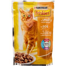 Τροφή FRISKIES γάτας με κοτόπουλο σε σάλτσα (100g)