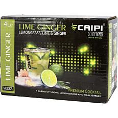 Έτοιμο κοκτέιλ CAIPI ONE vodka lime (4lt)