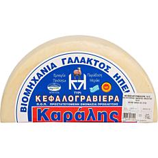 Τυρί ΚΑΡΑΛΗΣ κεφαλογραβιέρα Άρτας (~5kg)