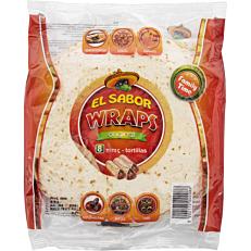 Τορτίγια EL SABOR wraps (8τεμ.)
