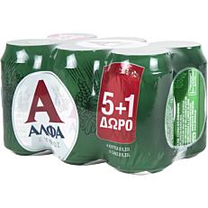 Μπύρα ΑΛΦΑ (6x330ml)