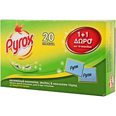 Εντομοαπωθητικό PYROX ταμπλέτες (20τεμ.)