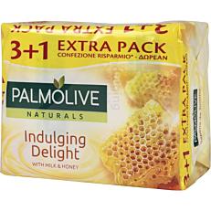 Σαπούνι PALMOLIVE πλάκα, Milk&Honey (4x90g)