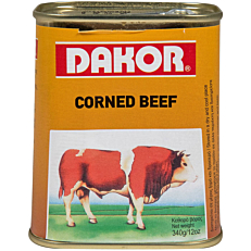Κονσέρβα DAKOR corned beef (340g)