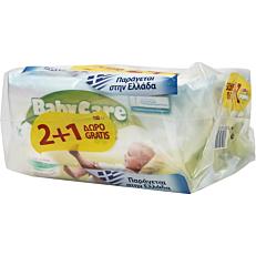 Μωρομάντηλα BABYCARE Fresh (3x63τεμ.)