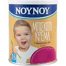 Παιδική κρέμα ΝΟΥΝΟΥ μπισκότο -1,20€ (300g)