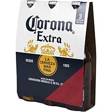 Μπύρα CORONA Extra (3x355ml)
