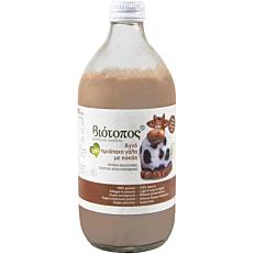 Γάλα ΒΙΟΤΟΠΟΣ σοκολατούχο με κακάο βιολογικό (bio) (500ml)