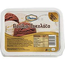 Παγωτό DESINO βανίλια σοκολάτα συσκευασία 2lt (900gr)