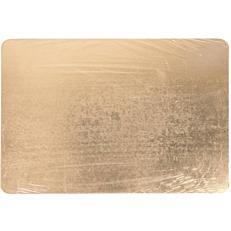 Δίσκος ζαχαροπλαστικής χάρτινος χρυσός, μαύρος 35x50cm 10kg