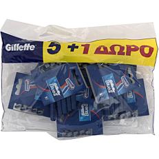 Ξυραφάκια GILLETTE blue 2 fixed μιας χρήσης (6τεμ.)