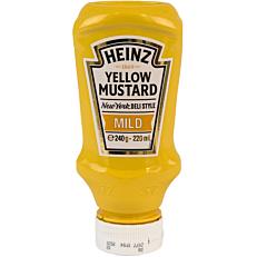 Μουστάρδα HEINZ απαλή (240g)