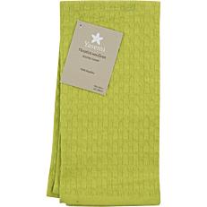 Πετσέτα κουζίνας YASEMI πικέ βαμβακερή πράσινη 40x60cm