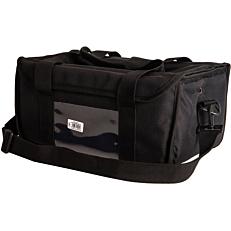 Τσάντα μεταφοράς καφέ, ισοθερμική μαύρη 8θέσεων