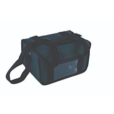 Ισοθερμική τσάντα καφέ 8 θέσεων κόκκινη 38x22x20cm