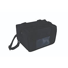 Ισοθερμική τσάντα καφέ 8 θέσεων μαύρη 32x22x20cm