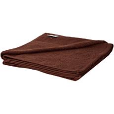 Πετσέτα MORENA LINE βαμβακερή καφέ 70x140cm