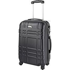 Βαλίτσα τρόλεϋ μαύρη 48cm
