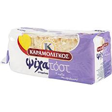 Ψωμί ΚΑΡΑΜΟΛΕΓΚΟΣ τοστ ψίχα σταρένιο (480g)