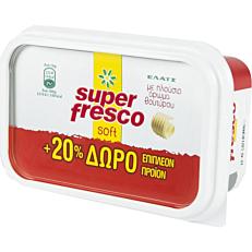 Μαργαρίνη ΕΛΑΪΣ super fresco soft +20% ΔΩΡΕΑΝ επιπλέον προϊόν (250g)