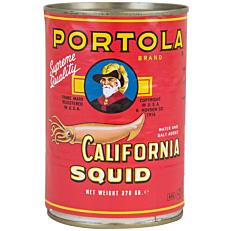 Κονσέρβα PORTOLA καλαμάρια με φυσικό χυμό (370g)