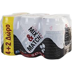 Αναψυκτικό MIX & MATCH σόδα (6x330ml)