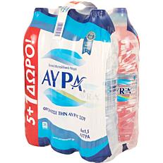 Νερό ΑΥΡΑ επιτραπέζιο (6x1,5lt)