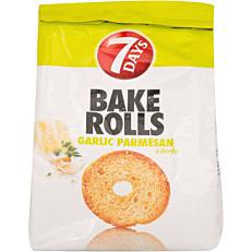 Αρτοσκεύασμα 7DAYS BAKE ROLL σκόρδο παρμεζάνα (160g)