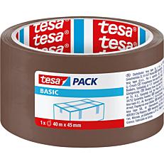 Ταινία TESA Basic συσκευασίας καφέ 40m x 45mm