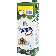 Γάλα ΔΕΛΤΑ My μμμmilk υψηλής παστερίωσης ελαφρύ 1,5% λιπαρά (1,5lt)