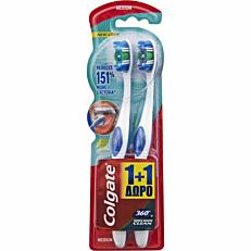 Οδοντόβουρτσα COLGATE 360 μέτρια (2τεμ.)
