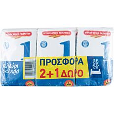 Αλεύρι σκληρό Νο.1 2+1ΔΩΡΟ (3x1kg)