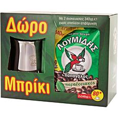 Καφές ΛΟΥΜΙΔΗΣ παπαγάλος ελληνικός (2x340g)
