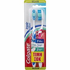 Οδοντόβουρτσα COLGATE triple action