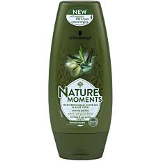 Μαλακτική κρέμα SCHWARZKOPF nature moments Mediterranean olive oil & aloe vera κατά της ψαλίδας (200ml)