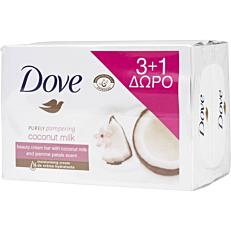 Σαπούνι DOVE coconut milk, πλάκα (4x100g)