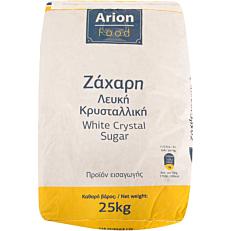 Ζάχαρη ARION FOOD λευκή κρυσταλλική (25kg)