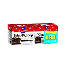 Κορν φλάουρ ΑΛΛΑΤΙΝΗ για κέικ -0,90 € (2x500g)