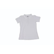 Μπλούζα ZEDEM γυναικεία πόλο κοντομάνικη λευκή